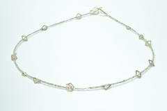 Diamantwürfelkette, Gold 750