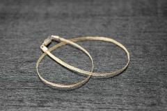 Halsband geflochtenes Gold